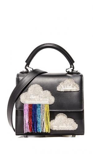 Маленькая сумка Alex с бахромой и облаками les petits joueurs