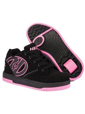 Роликовые кроссовки Heelys Propel 770291 (3). Цвет: черный, розовый