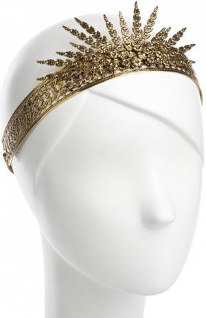 Ободок для волос Jennifer Behr. Цвет: золотой