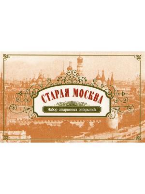 Набор открыток Старая Москва Даринчи. Цвет: коричневый