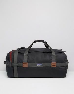 Patagonia Черная сумка дафл объемом 60 литров Arbor. Цвет: черный