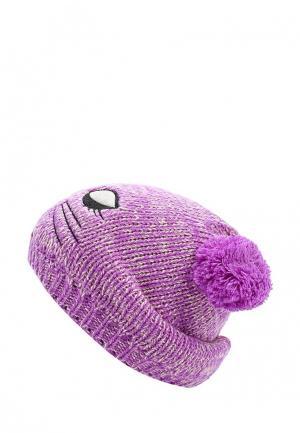 Шапка Modis. Цвет: фиолетовый