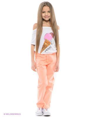 Брюки Sani. Цвет: персиковый