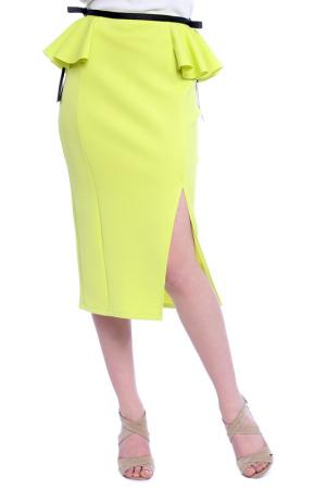 Юбка Emma Monti. Цвет: neon green