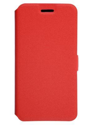 Чехол-книжка для LG K10 (2017) PRIME book. Цвет: красный