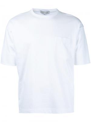 Футболка с нагрудным карманом Mackintosh. Цвет: белый