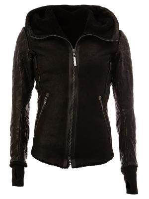 Куртка Corrompu Isaac Sellam Experience. Цвет: чёрный