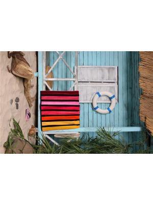 Полотенце пляжное BRAZIL 90*170 цв. мультиколор TOALLA. Цвет: оранжевый