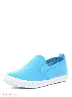 Слипоны XTI. Цвет: голубой