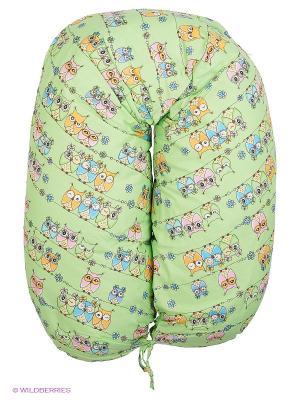 Подушка EUROMAMA. Цвет: зеленый