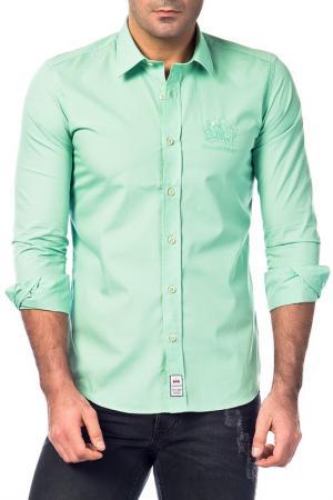 Рубашка Galvanni. Цвет: green