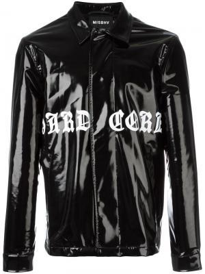 Hardcore Latex Coach coat Misbhv. Цвет: чёрный