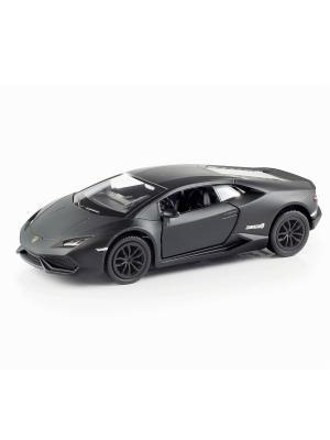Машина металлическая Lamborghini Huracan HOFFMANN. Цвет: черный