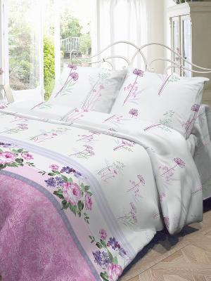 Комплект постельного белья Волшебная ночь. Цвет: белый