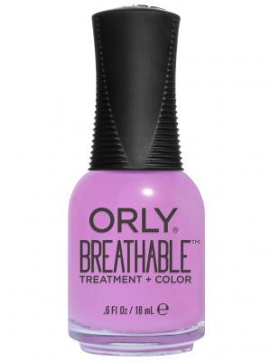 Профессиональный дышащий уход (цвет) за ногтями 911 TLC ORLY. Цвет: сиреневый