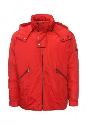 Куртка утепленная Trussardi Collection. Цвет: красный