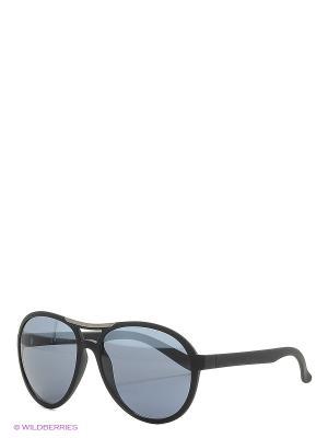 Солнцезащитные очки Franco Sordelli. Цвет: темно-серый