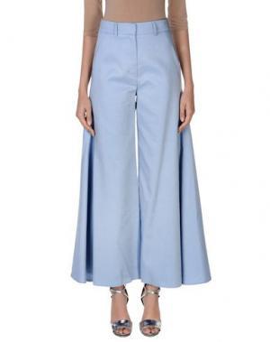 Повседневные брюки PETER PILOTTO. Цвет: небесно-голубой