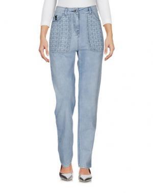 Джинсовые брюки BELSTAFF. Цвет: синий