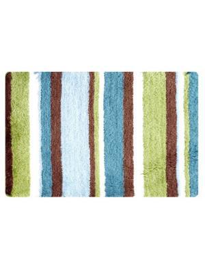 Коврик для ванной IDDIS. Цвет: синий, голубой, зеленый