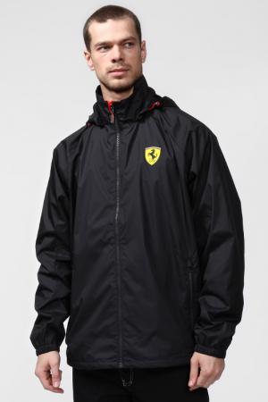 Ветровка Ferrari. Цвет: черный