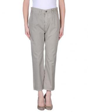 Повседневные брюки GOLD CASE SOGNO. Цвет: светло-серый