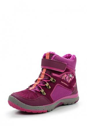 Ботинки Merrell. Цвет: фуксия