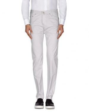 Повседневные брюки BETWOIN. Цвет: светло-серый
