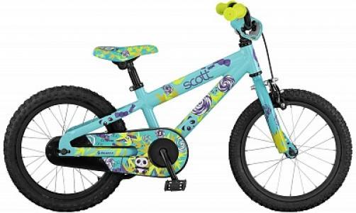 Велосипед детский для девочек  Contessa 16 Scott