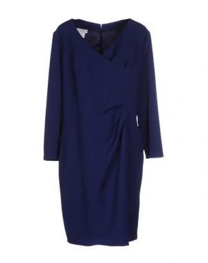 Короткое платье CAILAN'D. Цвет: темно-синий
