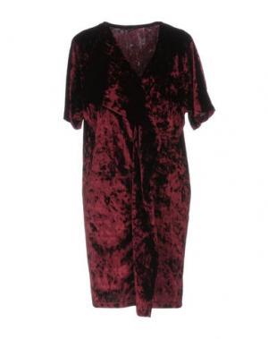 Короткое платье HANITA. Цвет: красно-коричневый