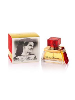 Т/в Pretty Woman  №2 жен. 60 мл Parfums Louis Armand. Цвет: желтый