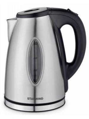 Чайник Starwind SKS4440, серебристый матовый. Цвет: серый