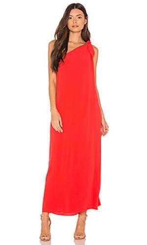 Платье-накидка camilla Mara Hoffman. Цвет: красный