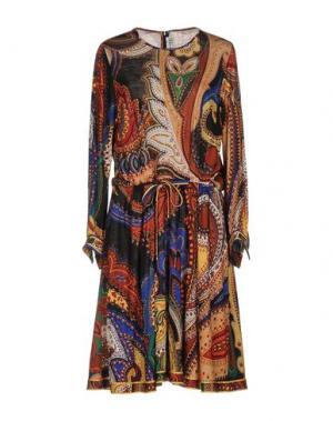 Короткое платье LEONARD Paris. Цвет: черный