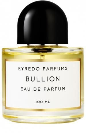 Парфюмерная вода Bullion Byredo. Цвет: бесцветный