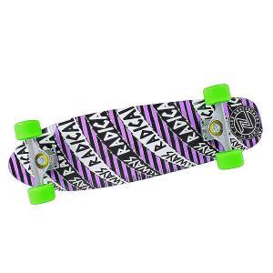 Скейт мини круизер  Always Radical Cruiser Purple 7.875 x 27.5 (69.9 см) Z-Flex