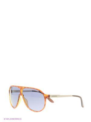 Солнцезащитные очки CARRERA. Цвет: черный, оранжевый