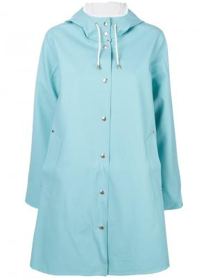 Пальто Mosebacke Stutterheim. Цвет: синий
