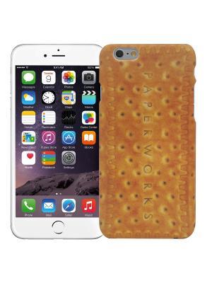Чехол для iPhone 6/6s Печенье Kawaii Factory. Цвет: светло-оранжевый