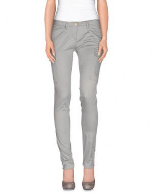 Повседневные брюки DEK'HER. Цвет: серый
