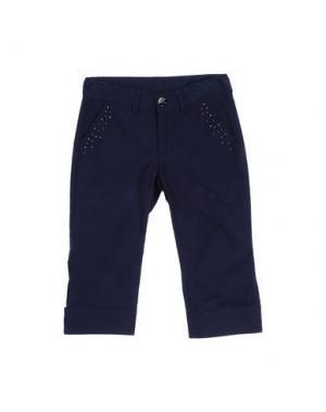 Повседневные брюки MASH KISS. Цвет: темно-синий