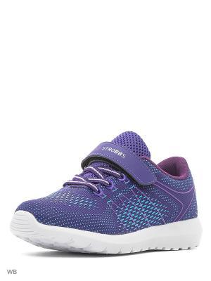 Кроссовки STROBBS. Цвет: фиолетовый