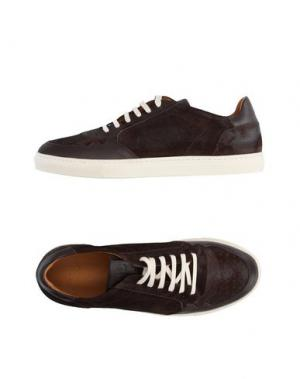 Низкие кеды и кроссовки N.D.C. MADE BY HAND. Цвет: темно-коричневый