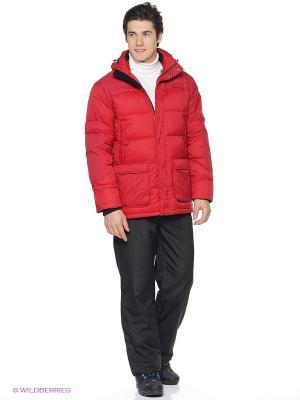 Куртка Luhta. Цвет: темно-красный