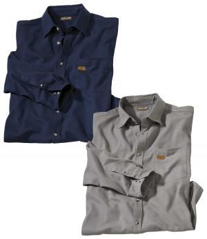 Комплект Фланелевых Рубашек — 2 шт. AFM. Цвет: разноцветньіи