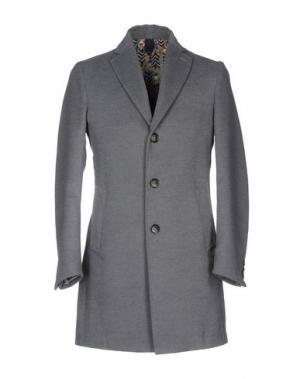 Пальто BASICON. Цвет: серый