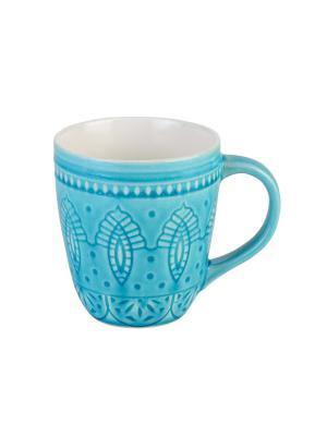 Набор кружек  6 шт TONGO. Цвет: светло-голубой, бирюзовый