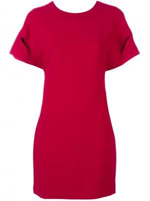 Платье Hilda Iro. Цвет: красный