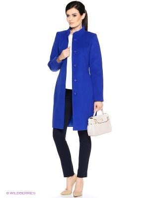 Пальто PARADOX. Цвет: синий